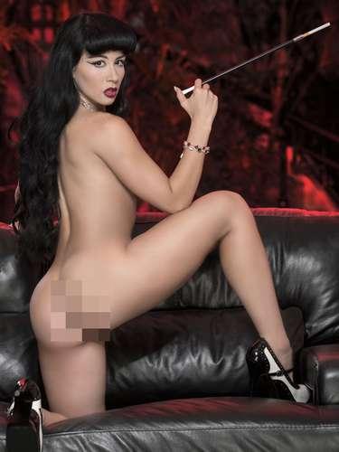 La llamada Bomba Sexy de Venezuela dijo a la publicación que para ella es un placer \