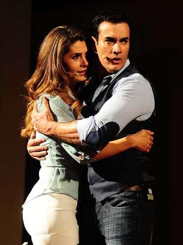 Mayrín Villanueva y David Zepeda son los protagonistas de la nueva telenovela de Televisa.