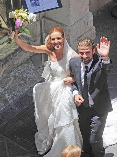 La pareja protagonizó una boda de cuento. El macabro destino ha querido que no hayan podido cumplir su primer año de casados.