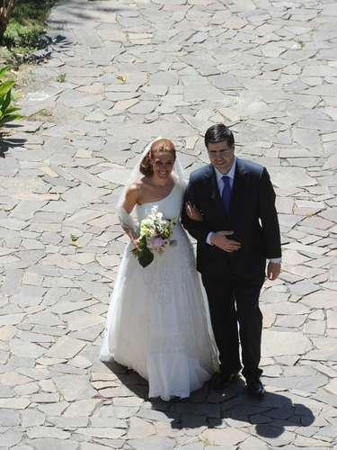 A la boda acudieron amigos de la pareja como Boris Izaguirre.