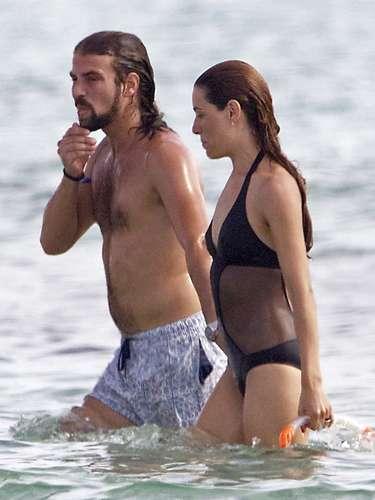 Raquel y su marido, fallecido con tan solo 36 años, pasaron su último verano en Formentera.