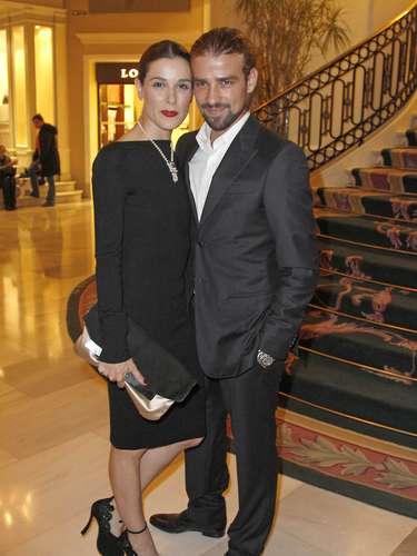 En la imagen, Raquel y Mario en noviembre de 2012, en la fiesta de los premios GQ del año.