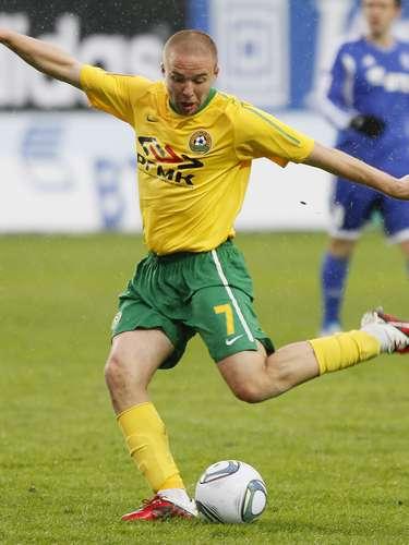 El mediocampista ruso Vladislav Kulik fue transferido del Kuban Krasnodar al Rubin Kazan, ambos de la primera división rusa.
