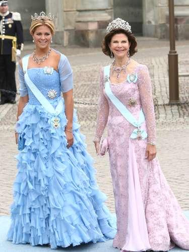 La joven está muy unida a su madre, la reina Silvia.