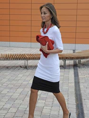 Desde que su marido Miguel Boyer sufriera un derrame cerebral, las apariciones en público de Isabel Preysler son contadas.