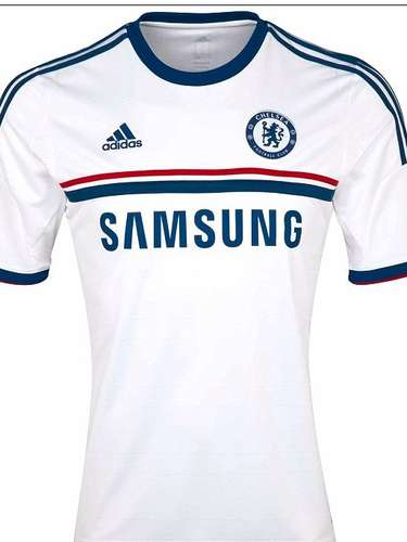 Chelsea left the biggest changes for its away jersey, with a white jersey that will help new manager Jose Mourinho feel at home coming from Real Madrid.