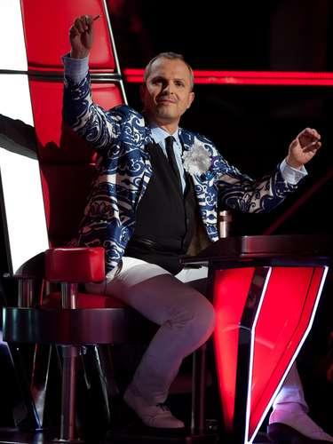 Una de las grandes sorpresas de la temporada pasada fue la inclusión de Miguel Bosé como coach de la versión mexicana de 'La Voz'.
