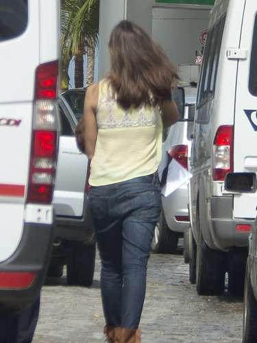 Últimas imágenes de Sara Carbonero antes de conocerse este fin de semana la noticia de su embarazo.