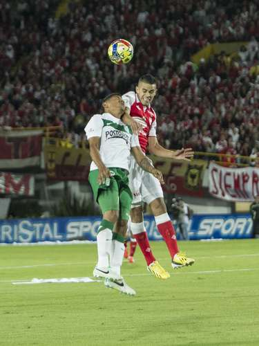 Santa Fe y Nacional jugaron en el estadio El Campín el partido final de la Liga Postobón. Rojos y verdes dejaron todo en el campo, pero solo uno se llevó el título del fútbol colombiano.