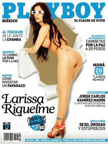 Larissa Riquelme (Mayo de 2011).