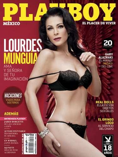 Lourdes Munguía (Julio de 2013).