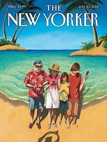 Portada de la revista New Yorker hace referencia al fenómeno \
