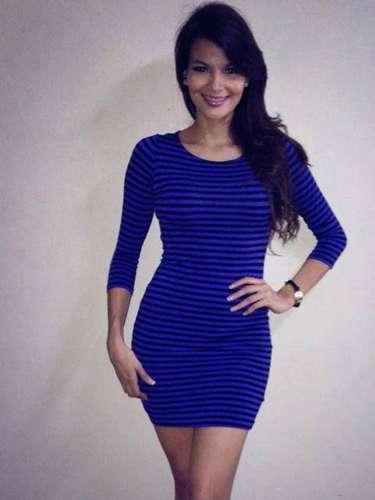 La sensual trigueña nació el 6 de enero de 1991 en San Salvador, y tiene 22 años de edad.