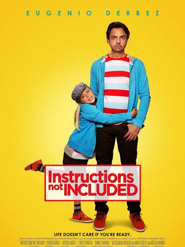 Póster de la película No se aceptan devoluciones (Instructions Not Included).