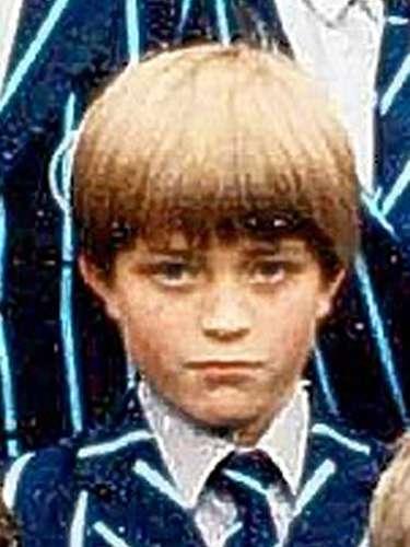 Esta foto de colegio pertenece al álbum del actor Robert Pattinson, nacido en Londres hace 27 años.