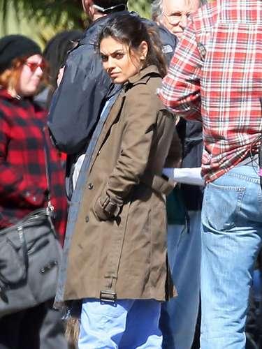 Mila no es estilosa, en lo cotidiano no presta tanta atención a su estilo, es más, podríamos decir que Kunis es bastante descuidada.