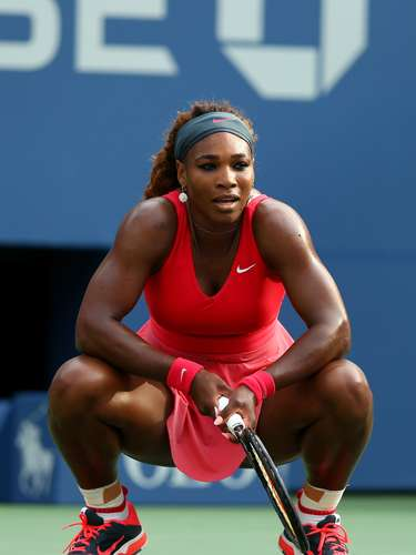 Reflexiona...A Serena Williams no le gusta cometer errores no forzados.