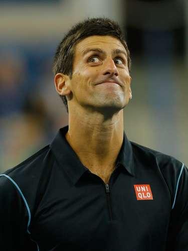 Picardía...'Nole' se divierte como ningún otro tenista dentro de la cancha.