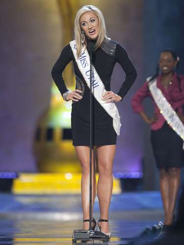 Miss America 2014 contestant, Miss Utah Ciera Pekarcik competes in a preliminary round during the Miss America Pageant in Atlantic City, New Jersey, September 10, 2013. Miss America will be crowned during the final ceremony on Sunday, September 15.    REUTERS/Carlo Allegri  (UNITED STATES - Tags: ENTERTAINMENT)