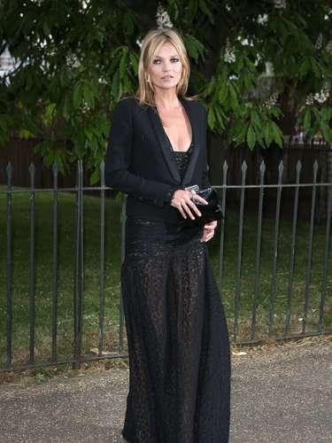 Kate Moss tiene casi 40 años, y ha tenido desde siempre uno de los estilos más copiados a nivel mundial.