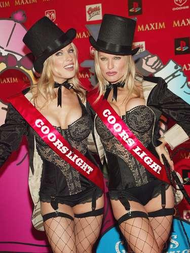 Diane y Elaine Klimaszewski se hicieron famosas como las gemelas de Coors Light. ¡Salud!