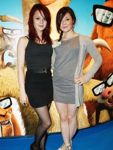 Megan y Kathryn Prescott