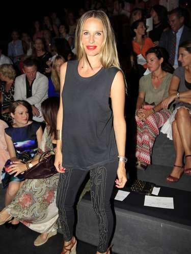 Son muchos las celebrities que se han trasladado hasta la Mercedes-Benz Fashion Week de Madrid para acudir al desfile de Miguel Palacio.