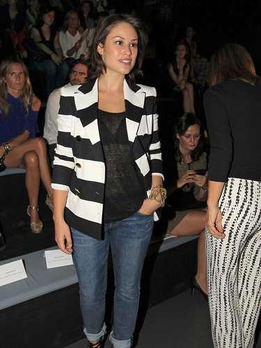 Aida Folch también ha querido mostrarle su apoyo al diseñador