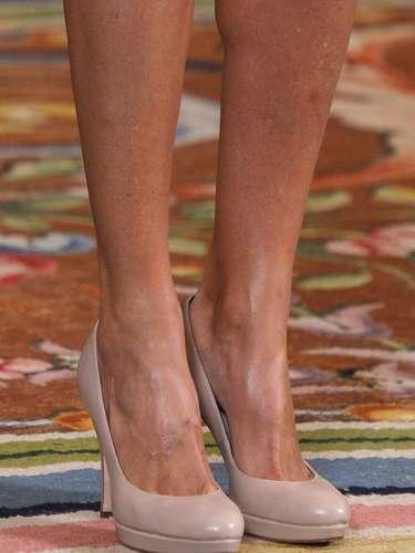 Detalle de los zapatos que ha lucido esta semana la princesa.