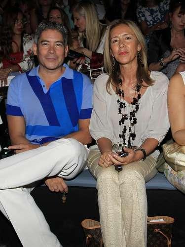 Boris Izaguirre y Mar García Vaquero, esposa de Felipe González.