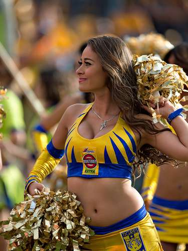 The beautiful Tirgres UANL cheerleaders have stolen the show during every game for the club.