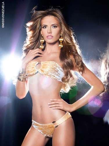 Miss Lara - María Laura Verde Hernández. Tiene 22 años de edad, mide 1,76 metros de estatura y su ciudad de nacimiento es Barquisimeto