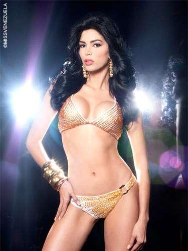 Miss Miranda - Gleymar Judith Loyo Becerra. Tiene 25 años de edad, mide 1,77 metros de estatura y su ciudad natal esAcarigua