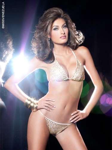 Miss Trujillo - Johana Alexandra Contreras Guerrero. Tiene 19 años de edad, mide 1,76 metros de estatura y su ciudad natal es San Cristobal