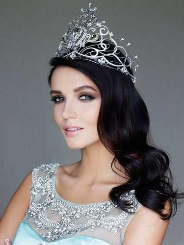 Olga,además de soñar con covertirse en la mujer más bella del universo, planea poderser actriz o presentadora de televisión.