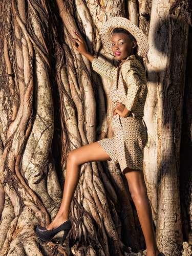 Miss Tanzania - Betty Omara. Tiene 20 años de edad y procede de Dar es Salaam
