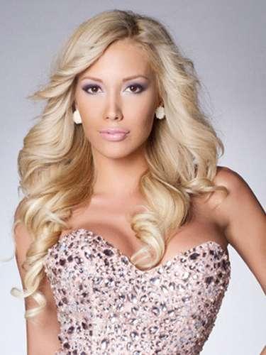 Esta glamorosa rubia es Miss Bulgaria, Veneta Krsteva. Tiene 21 años de edad y reside en Sofía.