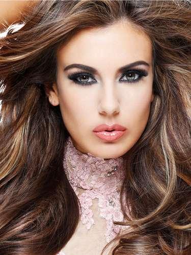 Despampanante Miss Estados Unidos, Erin Brady. Tiene 25 años de edad y reside en East Hampton.