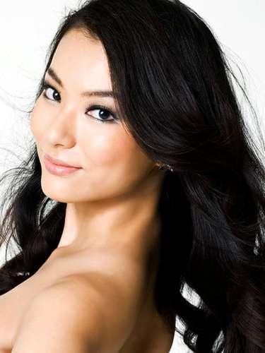 Enigmática encanto el de Miss Japón, Yukimi Matsuo. Tiene 25 años de edad y procede de la Prefectura de Mie