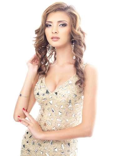Esta cálido atractivo es el que caracteriza a Miss Kazajistán, Aygerim Kozhakanova. Tiene 19 años de edad y reside en Astaná