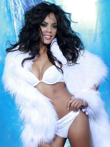 Miss Bahamas - Lexi Wilson. Tiene 22 años de edad, mide 1.75 metros de estatura (5 ft 9 in) y procede de Nasáu.