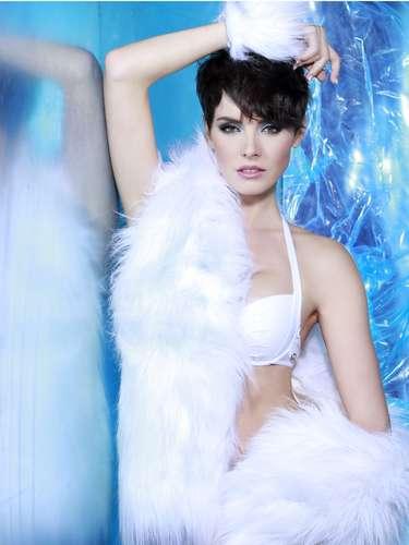 Miss República Checa - Gabriela Kratochvílová. Tiene 23 años de edad y reside en Chotbo