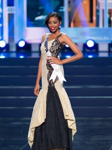 Miss Etiopía - Maheder Tigabe. Tiene 21 años de edad, mide 1.83 metros de estatura(6 ft 0 in)y prodece de Adís Abeba