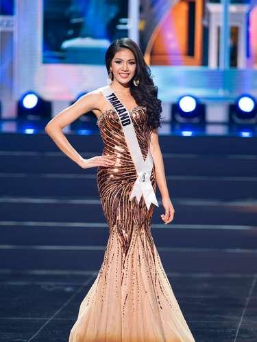 Miss Tailandia - Chalita Yaemwannang. Tiene 25 años de edad y reside en Nakhon Ratchasima