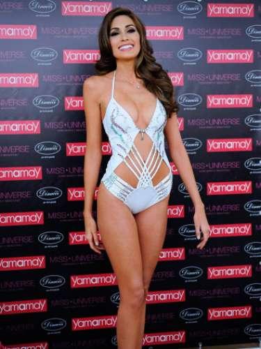 Grabriela Isler dijo que se sentiá muy contenta por haber sido seleccionada como soberana en el primer certamen de Miss Universo celebrado en Moscú en 62 años de historia del concurso.