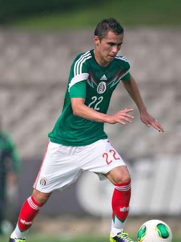 Paul Aguilar se moverá por la lateral del cuadro mexicano.