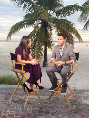 Enjoy the best photos posted on Twitter by this bachata singer who will fill the stage with great tunes at Terra Live Music on December 4. This is how Prince Royce told all to Bárbara Bermudo on the TV show \