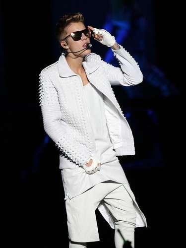 Justin Bieber llegó a México como parte de su gira 'Believe'.