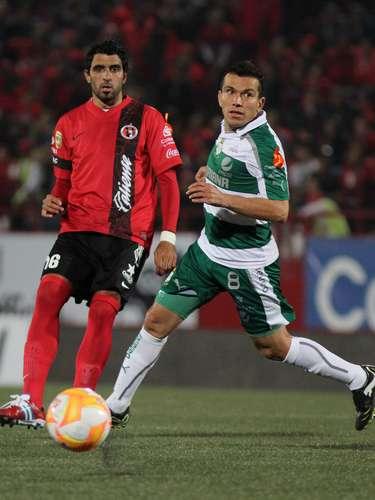 Juan Pablo Rodríguez, es otro de los experimentados del equipo de Torreón. Maneja los tiempos y ritmo con que sus compañeros deben circular la pelota para trasladarla a territorio rival.
