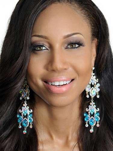 Miss Bahamas - Vandia Sands, tiene 25 años de edad, mide 1.73 metros de estura (5 ft 8 in)y reside en Nassau.
